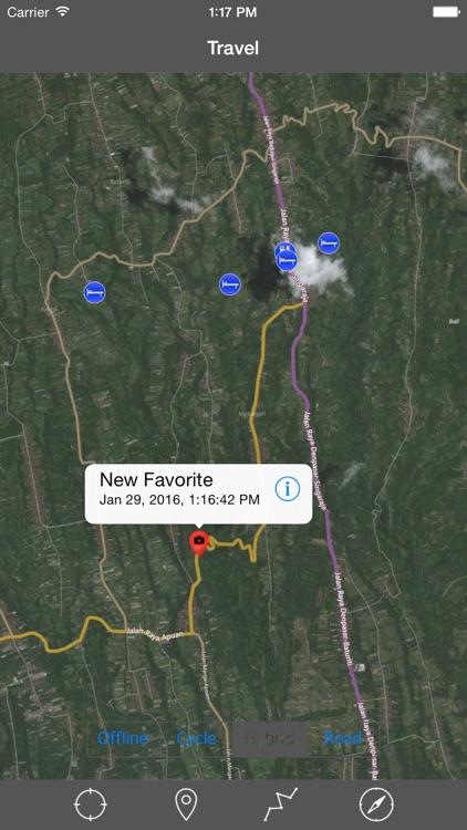 BALI (INDONESIA)– GPS Travel Map Offline Navigator