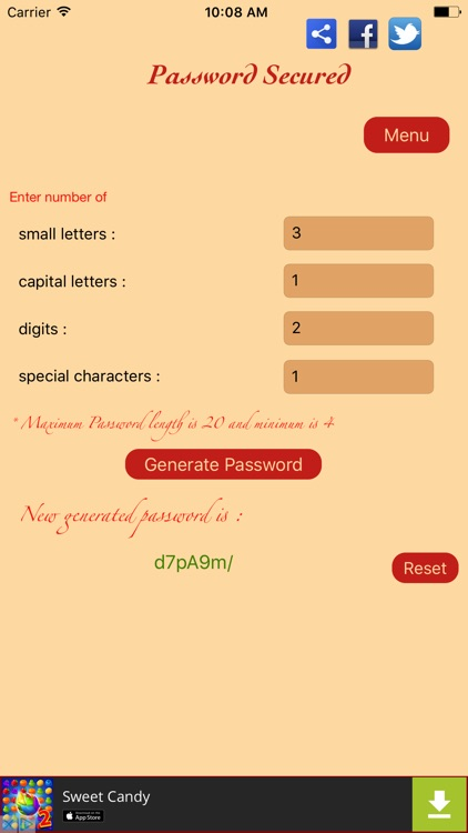 Password Secured