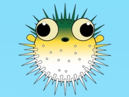 PufferFish Stickers