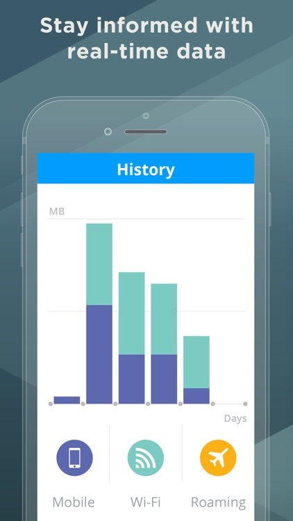 My Data Manager - Track data usage and save money screenshot-4