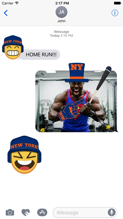 New York M Baseball Stickers & Emojis screenshot-1