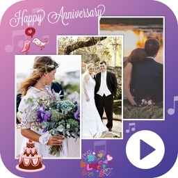 Anniversary Movie Maker with Music