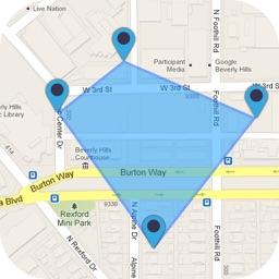 GPS Area Calculator - Geo Map Distance Measurement
