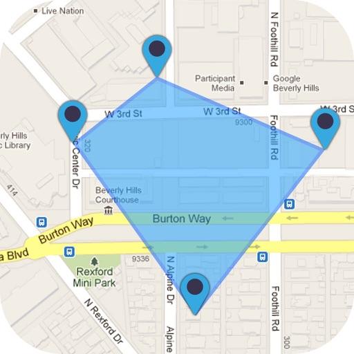GPS Area Calculator - Geo Map Distance Measurement by Pravin ... Distance Map Calculator on