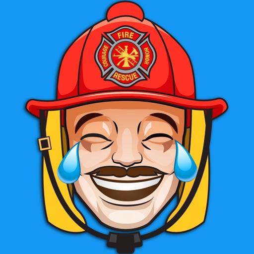 FirefighterMoji - Firefighter Emoji Keyboard