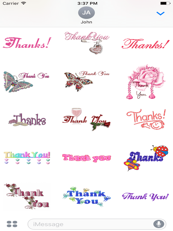 Animated Sorry & Thank You & Miss You GIF Stickers   App Price Drops