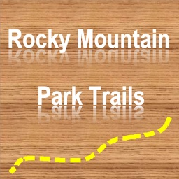 Trails of Rocky Mountain NP - GPS Maps for Hiking
