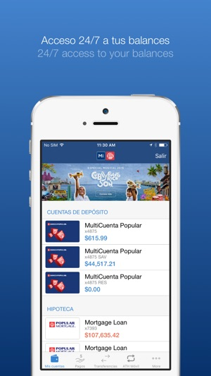 Mi Banco Mobile On The App Store