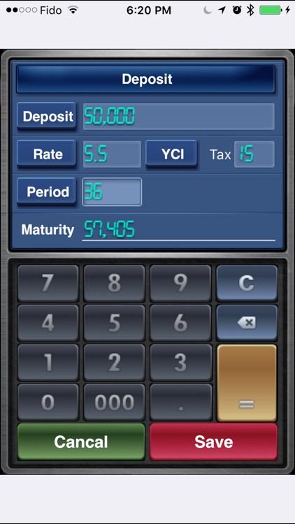 EZ Interest Calculator Lite screenshot-0