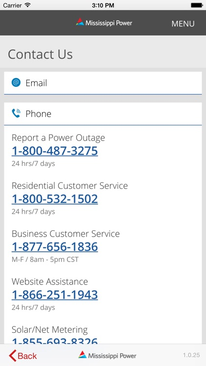 Mississippi Power Mobile screenshot-3