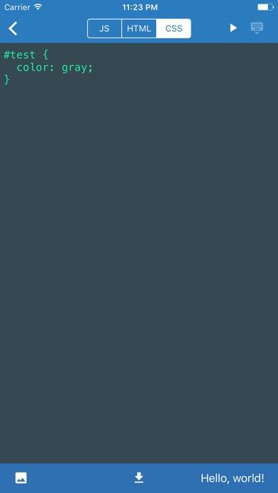 JavaScript Anywhere JSAnywhereのスクリーンショット5