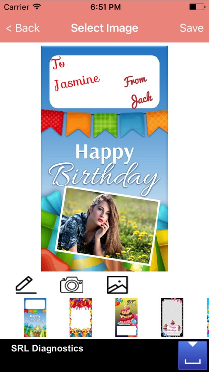 Birthday greeting card maker for wishes messages by santosh mishra birthday greeting card maker for wishes messages m4hsunfo