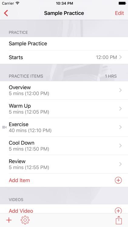 InfiniteBoxing Practice Planner