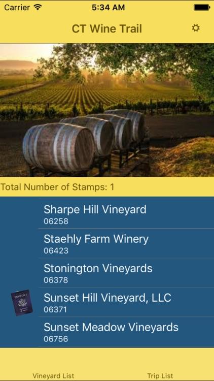 CT Wine Trail Companion