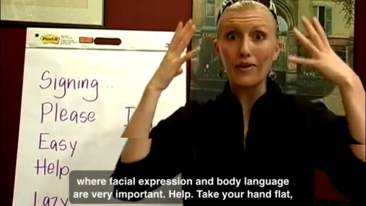 Sign Language Master Class screenshot-3