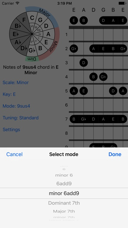 FretBud - Chord & Scales for Guitar, Bass and More screenshot-4