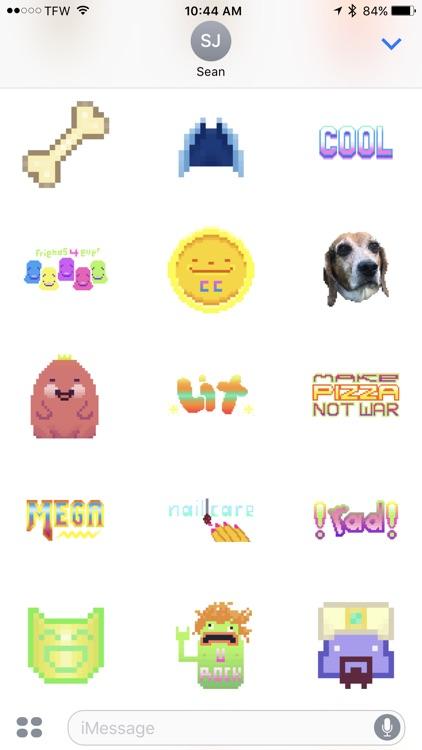 Flatdog Sticker Pack screenshot-3