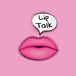 Lip Talk Sticker Pack