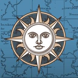 Карта Шуберта Санкт-Петербургской губернии