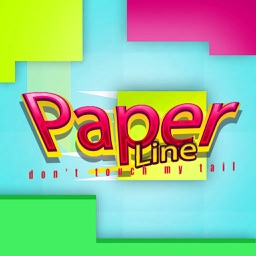 Paper line - don't touch my tail