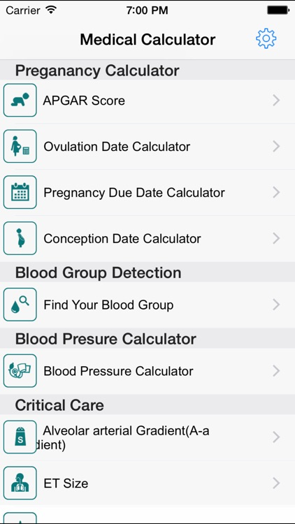 Medical Calculators Pediatrics screenshot-1