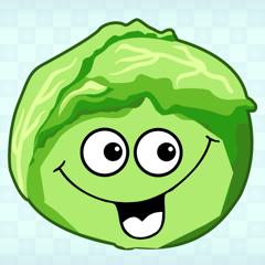 Весёлые овощи. Развивающие игры для детей.