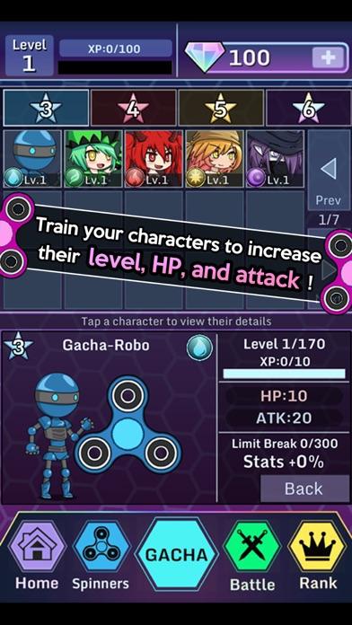 Anime Fidget Spinner Battle screenshot 3