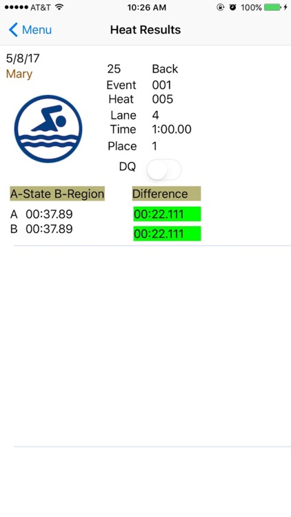 SwimTrack-BeOnTime screenshot-4