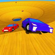 Block Pixel Whirlpool Car Derby
