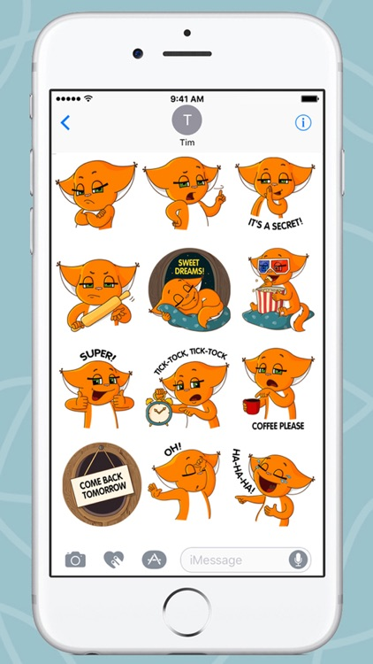 Squirrel Kroshka Shi New Stickers screenshot-3