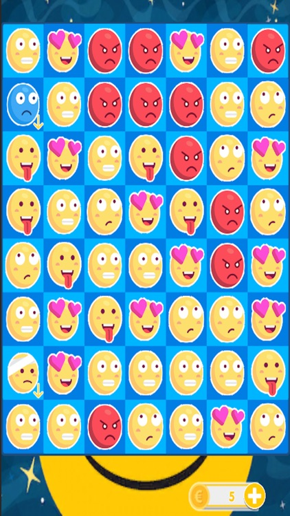 Smilies Match - Three Puzzle Game 2017 screenshot-4