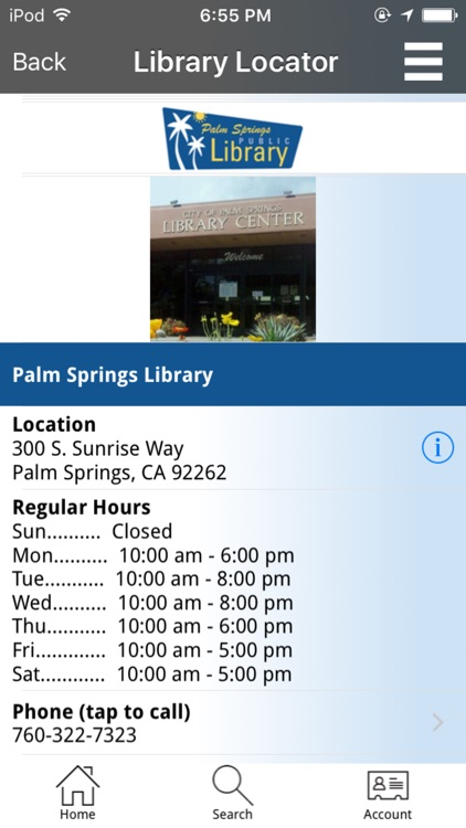 Palm Springs Public Library screenshot-4