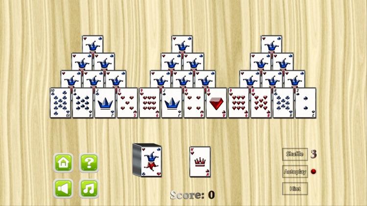 TriPeaks Solitaire card game screenshot-3