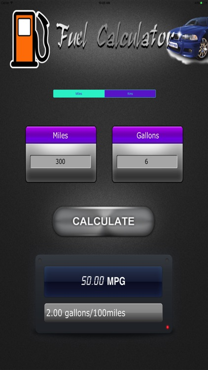 Fuel Efficiency Check HD screenshot-4