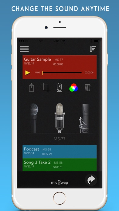 MicSwap: Microphone Emulator Screenshots