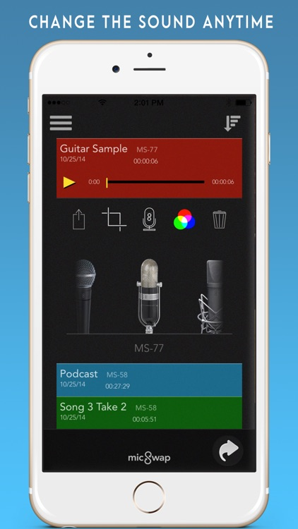MicSwap: Microphone Emulator & Recorder screenshot-3