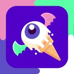 Moppa Ice Cream: Make monster desserts for kids