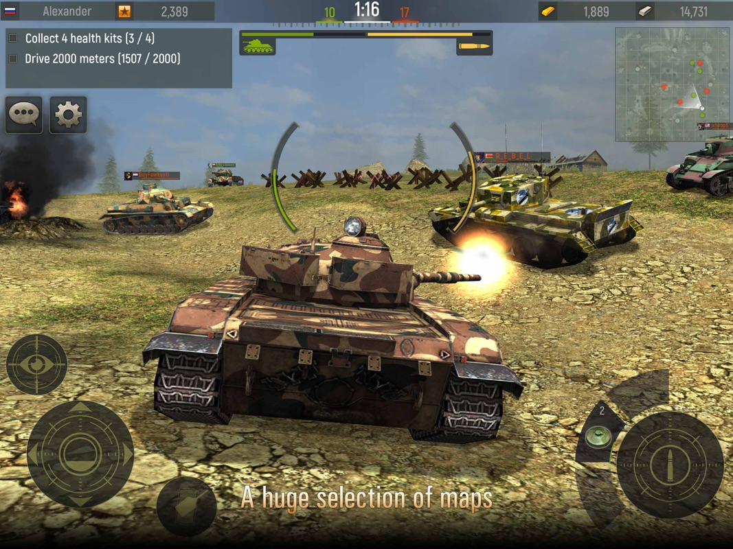 Grand Tanks: Tank Shooter Game - Online Game Hack and Cheat