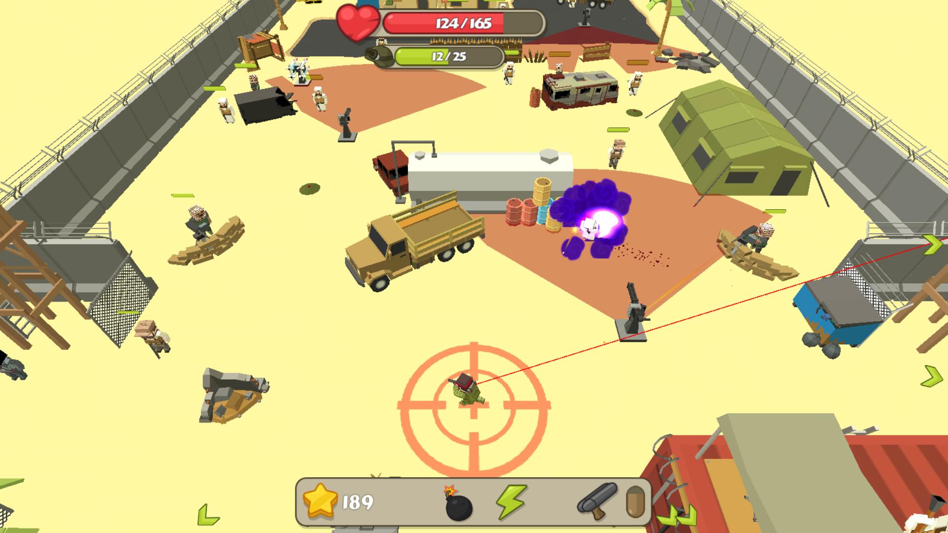 Backstorm Attack - Endless RPG War Runner screenshot 12