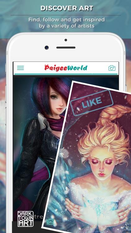 PaigeeWorld - Art Community