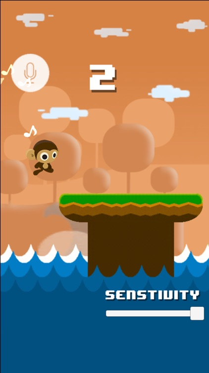 Monkey Scream & Sing Go- the voice running game by