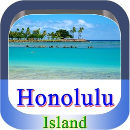 Honolulu Island Offline Map Guide