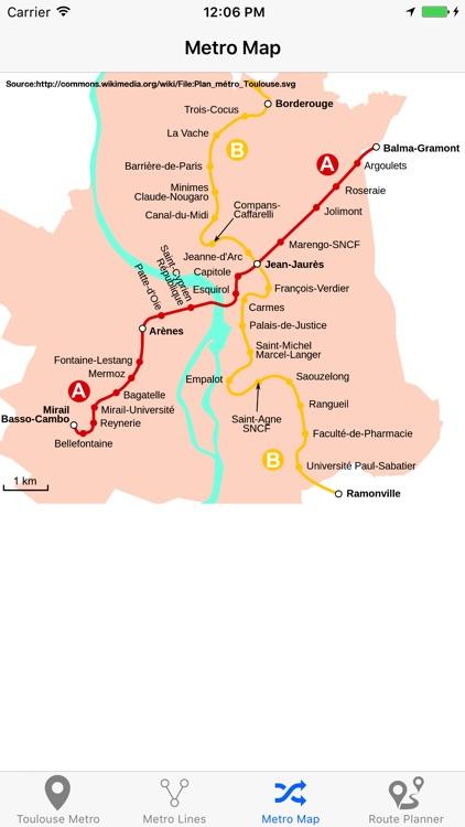 Toulouse Metro screenshot-4