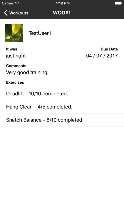 My Weightlifting Coach screenshot-4