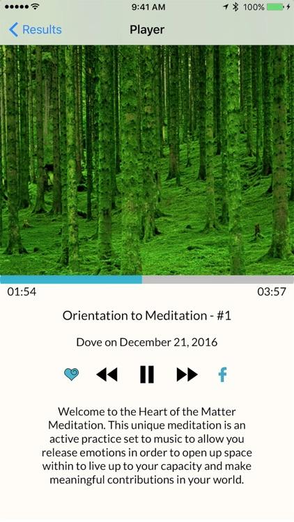 Heart of the Matter Meditation screenshot-4