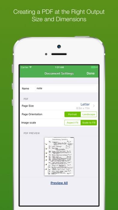 ClearScanner Pro: PDF Scanning Screenshots