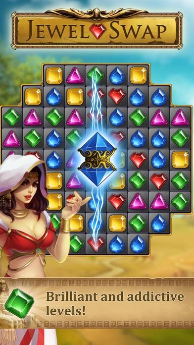 Jewel Swap -Magic match 3 game screenshot two