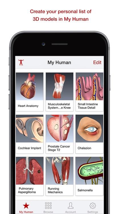BioDigital Human: 3D Anatomy and Disease Models
