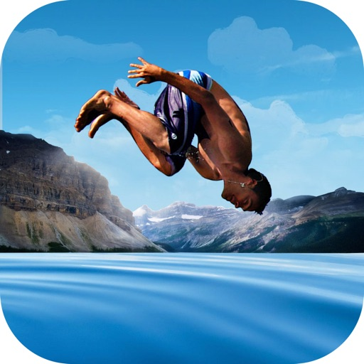 Flip Swim Diving : Cliff Jumping