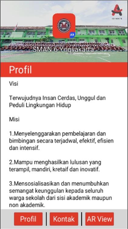 AR SMAN 6 Yogyakarta 2017